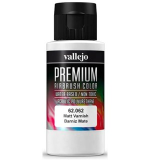 Vallejo Premium Matt Varnish 60ml Premium Klarlakk Matt