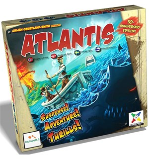 Atlantis Brettspill - Norsk Survive Escape From Atlantis 30th Ann.Ed