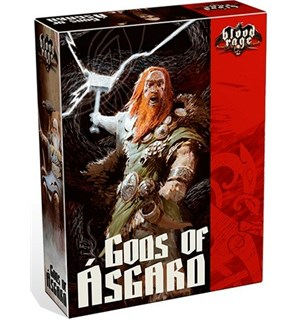 Blood Rage Gods of Asgard Expansion Utvidelse til Blood Rage Brettspill