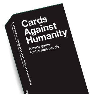 Cards Against Humanity Kortspill UK ed UK utgaven av Cards Against Humanity