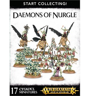 Daemons of Nurgle Start Collecting! Warhammer Age of Sigmar