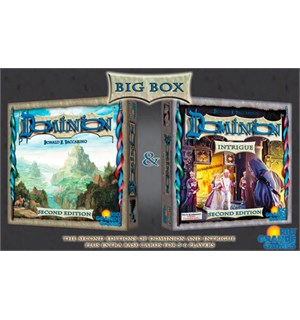 Dominion Big Box Brettspill - Engelsk Second Edition - Grunnspill + Intrigue