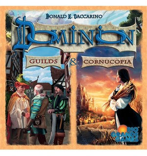 Dominion Guilds & Cornucopia Utvidelse Expansion til Dominion