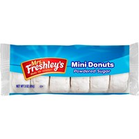 Donuts Mini Powdered Mrs Freshleys 6stk 6 Donuts i pakken