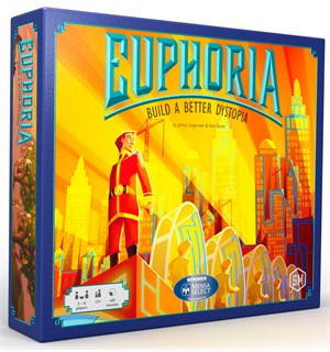 Euphoria Brettspill Build a Better Dystopia