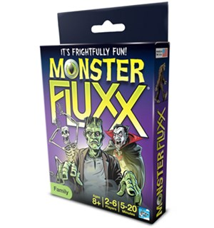 Fluxx Monster Kortspill