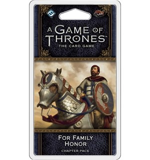 Game of Thrones TCG For Family Honor Exp Utvidelse til Game of Thrones Card Game