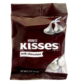 Hersheys Kisses 150g