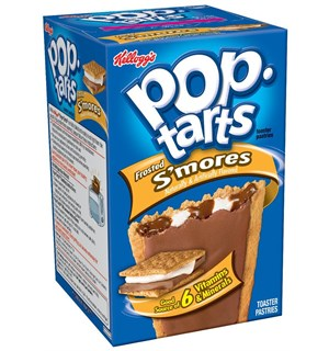 Kelloggs Pop Tarts Frosted Smores 8 stk 0,5 kg.