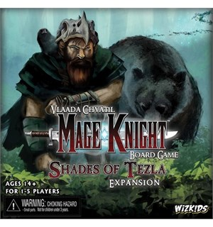 Mage Knight Shades of Tezla Expansion Utvidelse til Mage Knight Brettspill