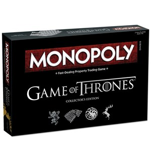 Monopoly Game of Thrones Brettspill Collector's Edition