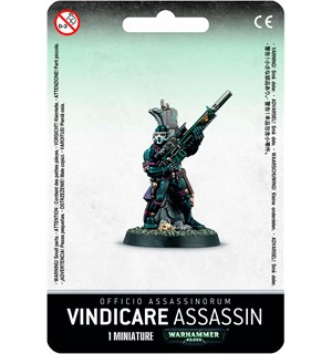 Officio Assassinorum Vindicare Assassin Warhammer 40K