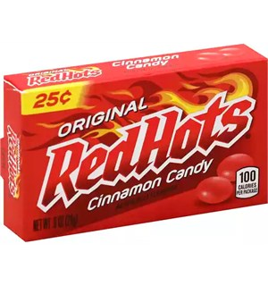 Red Hots Kanelsmak Pastiller 25 g Original Red Hots