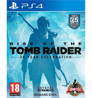 Rise of the Tomb Raider PS4 20 Year Celebration Edition m/ bonuser