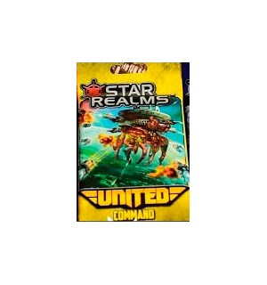 Star Realms United Command Expansion Utvidelse - 12 kort