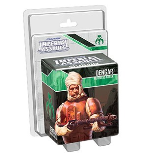 Star Wars IA Dengar Ruthless Killer Imperial Assault Villan Pack