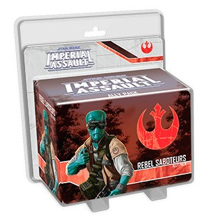 Star Wars IA Rebel Saboteurs Ally Pack Imperial Assault