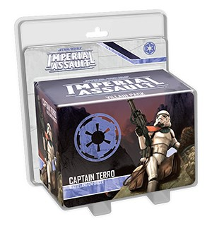 Star Wars IA Captain Terro Villain Pack Imperial Assault