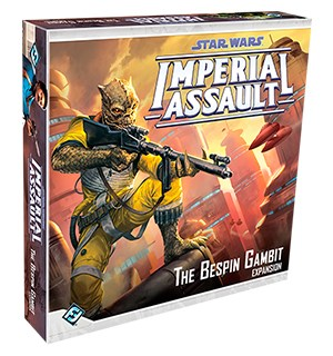 Star Wars IA The Bespin Gambit Expansion Utvidelse til Star Wars Imperial Assault
