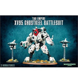 Tau Empire XV95 Ghostkeel Battlesuit Warhammer 40K