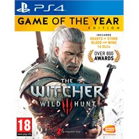 The Witcher 3 GOTY Edition PS4 Wild Hunt Game of the Year Edition