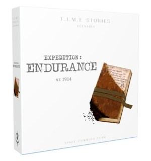 Time Stories Expedition Endurance Exp Utvidelse til Time Stories Brettspill