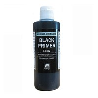 Vallejo Surface Primer Black/ Sort 200ml
