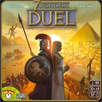 7 Wonders Duel Brettspill - Norsk 7 Wonders for to spillere