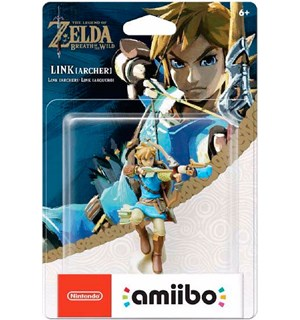 Amiibo Figur Link Archer The Legend of Zelda Breath of the Wild