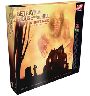 Betrayal at House on the Hill Widows Exp Expansion/utvidelse Widows Walk