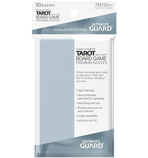 Brettspill Kortbeskyttere 50stk 73x122mm Ultimate Guard Premium Tarot Sleeves