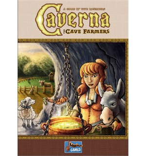 Caverna The Cave Farmers Brettspill