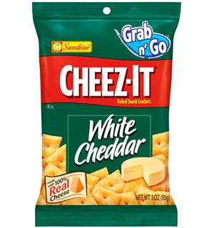 Cheez-It White Cheddar Crackers - 85g