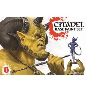 Citadel Base Paint Set 11 Baser+Pensel