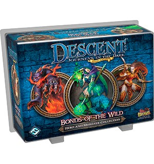 Descent Bonds of the Wild Hero & Monster Tilleggspakke til Descent Brettspill