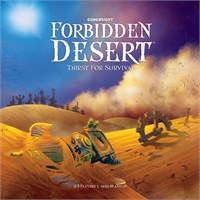 Forbidden Desert Brettspill Mensa Select National winner