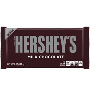Hersheys Milk Chocolate Giant Bar 200g