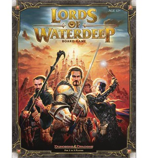Lords of Waterdeep Brettspill Dungeons & Dragons Lords of Waterdeep