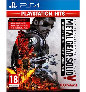 Metal Gear Solid 5 Definitive Coll PS4 Definitive Collection