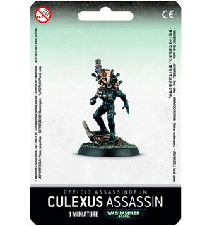 Officio Assassinorum Culexus Assassin Warhammer 40K