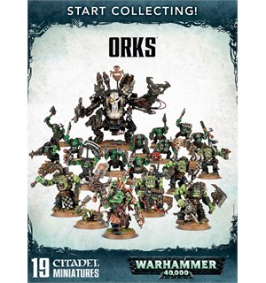 Orks Start Collecting Warhammer 40K