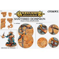 Shattered Dominion 40+65 mm Round Base Warhammer Age of Sigmar