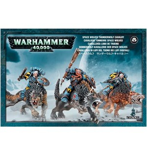 Space Wolves Thunderwolf Cavalry Warhammer 40K