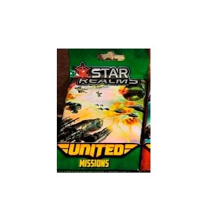 Star Realms United Missions Expansion Utvidelse - 12 kort