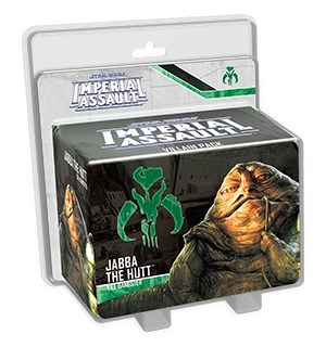 Star Wars IA Jabba the Hut Villain Pack Imperial Assault