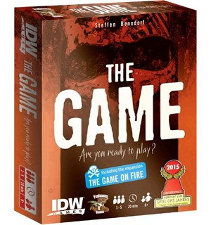 The Game inkludert The Game On Fire Nominert til Spiel des Jahres