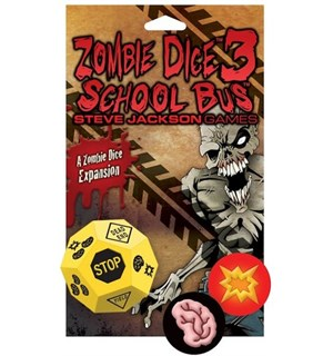 Zombie Dice 3 School Bus Exp Utvidelse til Zombie Dice Terningspill