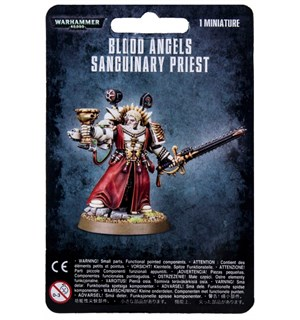 Blood Angels Sanguinary Priest Warhammer 40K