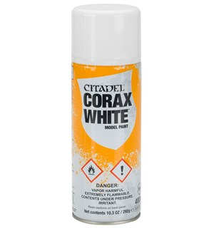 Citadel Spray Corax White 400 ml (Erstatter Citadel Spray Skull White)