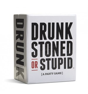 Drunk Stoned or Stupid Kortspill